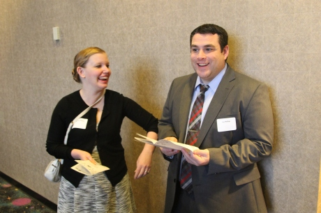 Amanda Philips, Technology Helpdesk Support Technician and Joe Phillips, Technology Support Manager