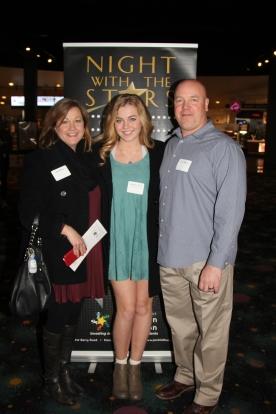 Cathy, Elizabeth and Dan Thibeau