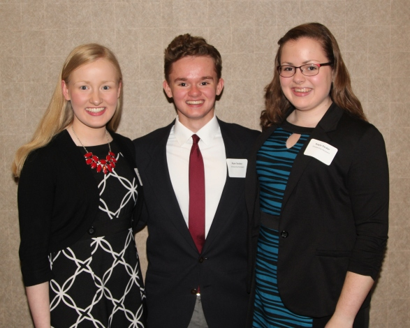 Kelly, Ryan, and Kayla Decker, Scholarship Recipients