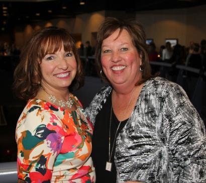 Susan Van Hooser and Julie Kloeppel of the Park Hill Education Foundation