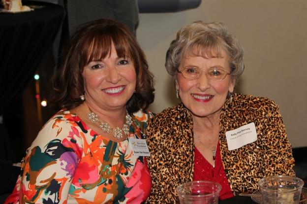 Susan Van Hooser with her mother, Katy Pat Dorsey