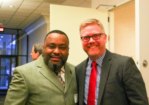 Park Hill Partner Arshad Middleton and Dr. Mike Kimbrel, executive director for quality and evaluation, attended the breakfast.