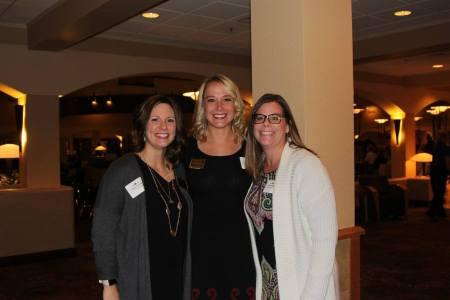 Professional Studies facilitators Colleen Katzenberger Coursey, Sarah Haferkamp and Natalie Barner — with Colleen Katzenberger Coursey and Natalie Barner