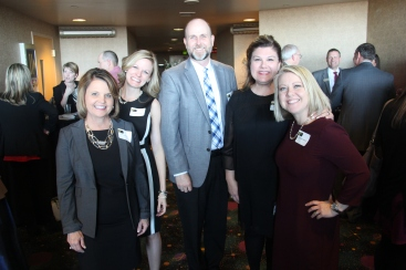 Dr. Susan Rizzo, director of instructional technology; Dr. Christina Kilgore, coordinator of curriculum and student services; Dr. Jeff Klein, assistant superintendent for academic services; Stephanie Amaya, director of Professional Studies; and Dr. Jasmine Briedwell, director of elementary education
