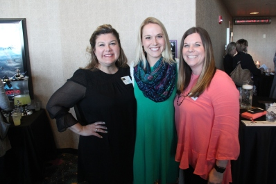 Stephanie Amaya, director of Professional Studies; and Sarah Haferkamp and Natalie Barner, Professional Studies facilitators; received a grant for the Professional Studies program. Not pictured: Dustin Sollars and Colleen Coursey